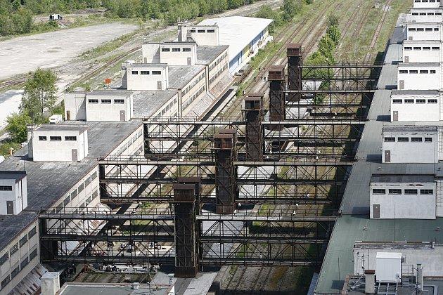 ... nákladové nádraží Žižkov, ...