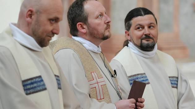 V pražském Břevnovském klášteře byl vysvěcen nový biskup české starokatolické církve Pavel Benedikt Stránský.