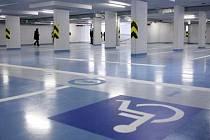 Nové podzemní garáže mají kapacitu 116 míst.