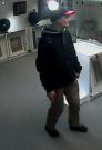 Podezřelý z krádeže v galerii.
