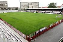 Fotbalový stadion Viktorie Žižkov.