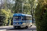 Dopravní podnik představil 24. dubna v Praze zážitkovou jízdu s tramvají Měsíček.