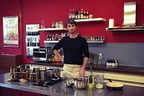 Šéfkuchař Tomáš Kalina.