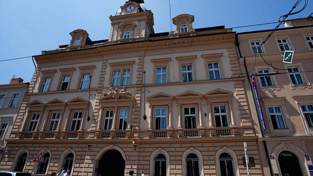 Smíchovská radnice.