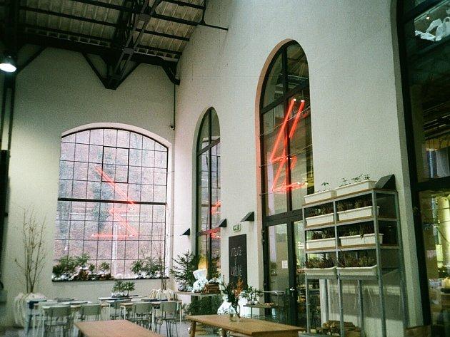 Restaurace Eska v Karlíně.