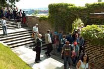 Jižní zahrady na Hradě. Ilustrační foto.