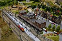 V pražském Království železnic byla 7. prosince slavnostně otevřena pro veřejnost další část unikátního modelu České republiky v podobě modelového kolejiště, která představuje Karlovarský kraj.