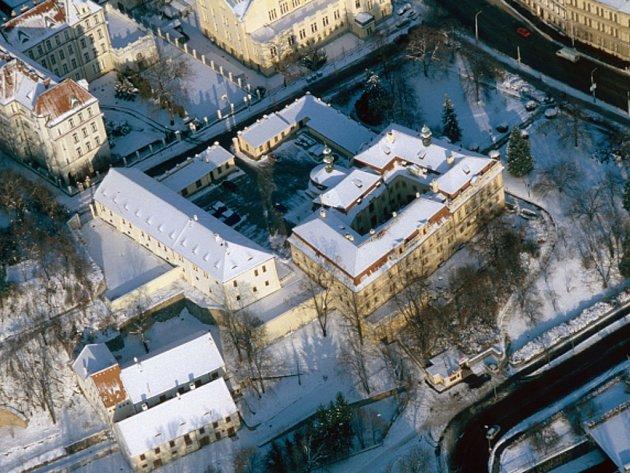 Areál Libeňského zámku.