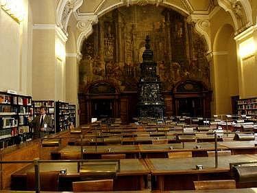 JEDNA ZE STUDOVEN KLEMENTINA. Zájemcům o historická periodika, z nichž některá byla vydáná již v 18. stoletíNárodní knihovna zpřístupní ohrožené tiskoviny ke studiu v digitalizované podobě.,