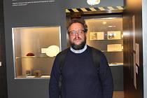 MARTIN ŠMOK, kurátor výstavy Labyrintem normalizace.
