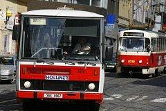 Výluky. Tramvaje nahradí autobusová doprava.