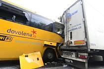 Nehoda u letiště