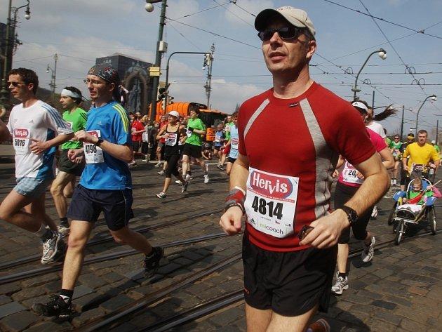 Z Pražského půlmaratonu.