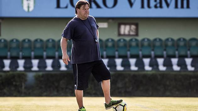 Martin Frýdek, trenér Loko Vltavín, poskytl 1. srpna v Praze rozhovor Deníku.