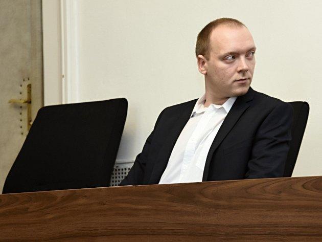 Václav Soudský před soudem.