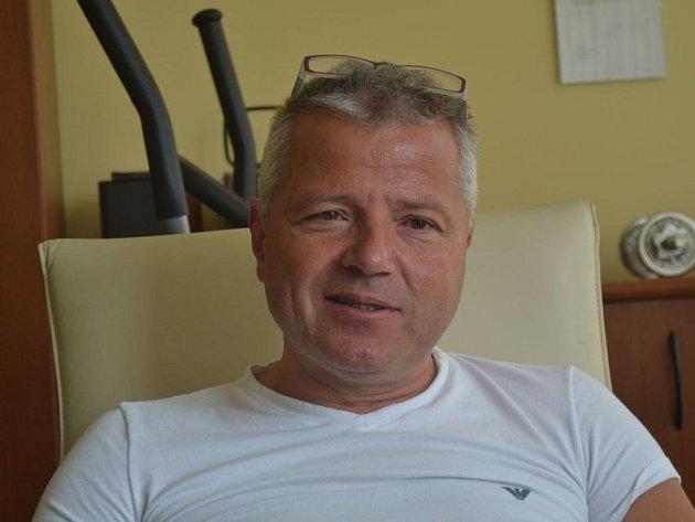Ředitel středočeské záchranky Martin Houdek