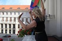 Pražská radní pro kulturu a cestovní ruch Hana Třeštíková (Praha sobě) se zlobí, že zastupitelé nepodpořili dotaci na akci Prague Pride 2021.
