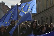 Pochod pro Evropu (March for Europe).