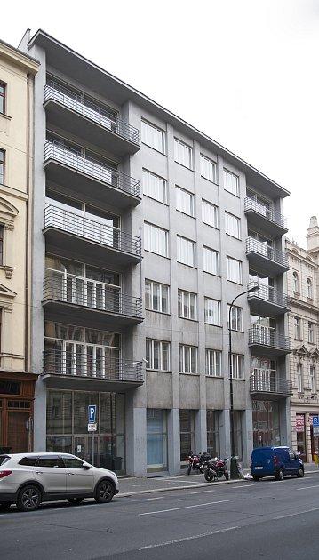 architekt Tyl, Dívčí domov YWCA Žítná ulice  563/12, 13.9.2017