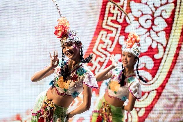 Oslavy Čínského nového roku probíhaly 15. února v pražském Obecním domě.