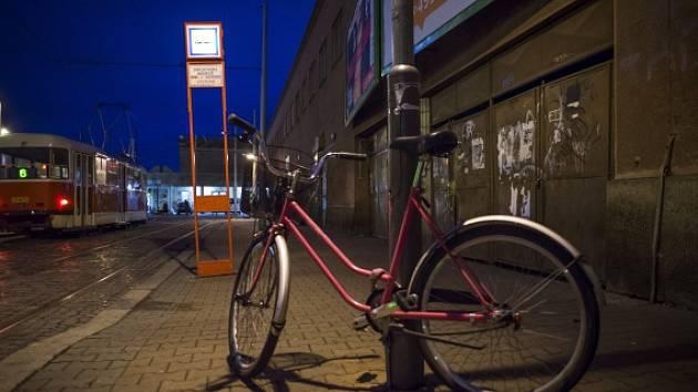 Rekola, recyklované jízdní kolo.