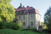 Areál Veleslavínského zámku.