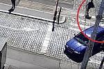 Pronásledování muže podezřelého z odcizení vozidla.