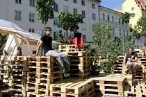 Projekt Zóna na Ovocném trhu v Praze