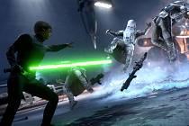 Počítačová hra Star Wars: Battlefront.