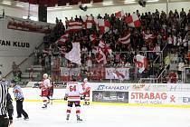 Přípravný hokej. Slavia - Sparta 2:3 po pr.
