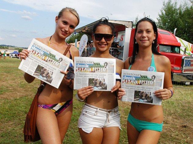 Zábava na Sázavafestu 2012