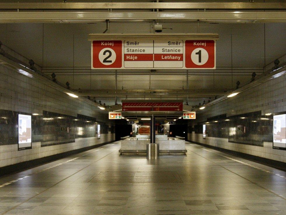 Metro linka C. Ilustrační foto.