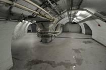 Protiatomový kryt ve Strahovském tunelu.