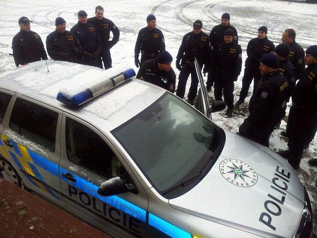 Policejní pátrání. Ilustrační foto.
