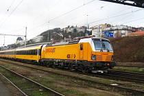 Vlak společnosti RegioJet.