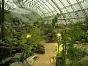 Botanická zahrada v pražské Tróji. Skleník Fata Morgana