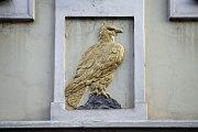 Dům U zlatého orla z roku 1651.