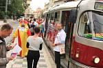 Duhová tramvaj