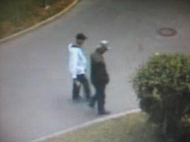 Kriminalisté prvního policejního obvodu pátrají po dvojici pachatelů, kteří okradli zasloužilého seniora.