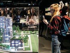 Centrum architektury a městského plánování (CAMP) zahájilo interaktivní výstavu Pře(d)stav si Prahu!