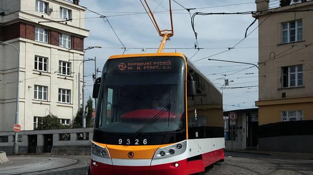 Dopravní podnik ve vozovně Pankrác slavnostně představil novou tramvaj Škoda ForCity Alfa.