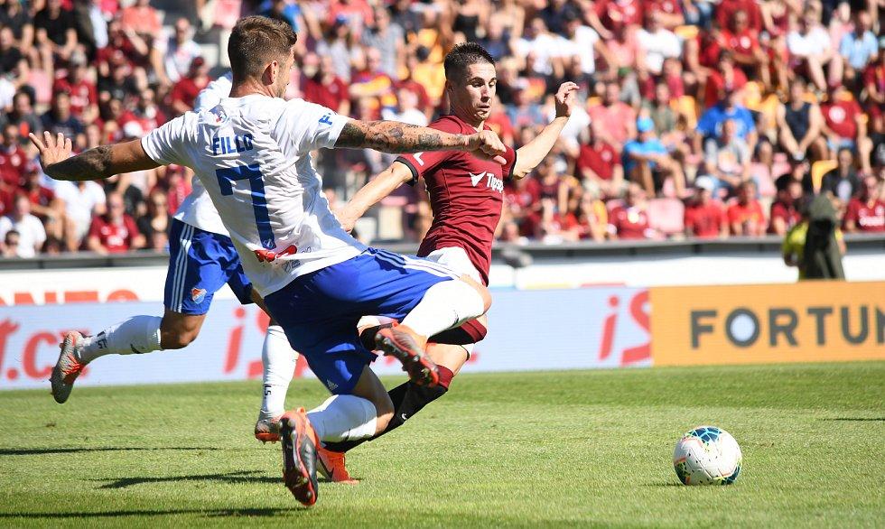 Sparta Praha - Baník Ostrava 2:0 (2:0).
