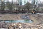 Konec černé skládky. Developer sousedního komplexu Suomi Hloubětín společně s magistrátem zajistil vyčištění koryta a břehů řeky Rokytky. Několikasetmetrový úsek vytvoří lokální biotop.