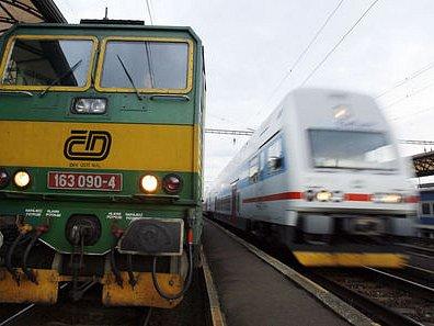 Vlaky.