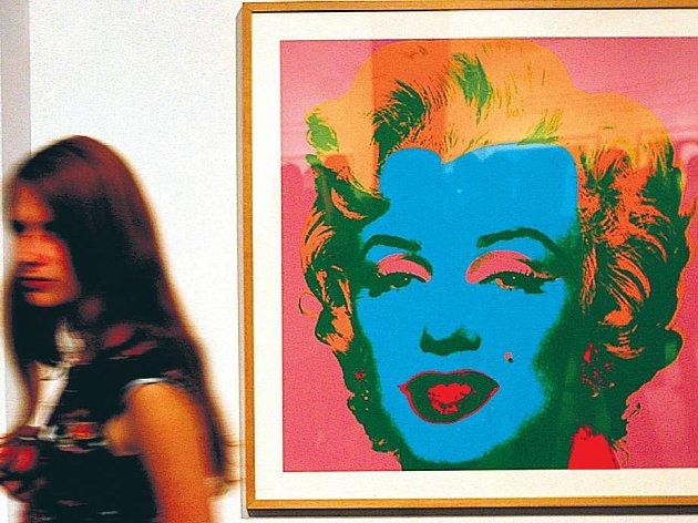 SVĚTOZNÁMÁ. Warholova Marilyn na Kampě.