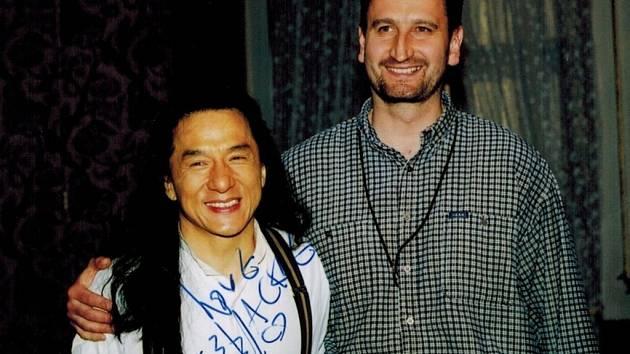 Pan Krejcárek a Jackie Chan