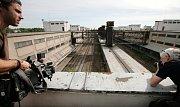 Prohlídka vnitřních prostor Nákladového nádraží Žižkov