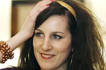 Zpěvačka hudební skupiny Toxique Klára Vytisková.