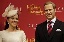 Voskové figuríny - Princ William a Kate. Muzeum voskových figurín Madame Tussauds otevře koncem roku první pobočku v Praze.