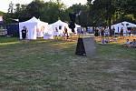 Dne 13. září v neděli se v Pražském parku Stromovka konalo parkourové představení, které bylo součástí akce Praha Září. Foto: Vojta Gallo